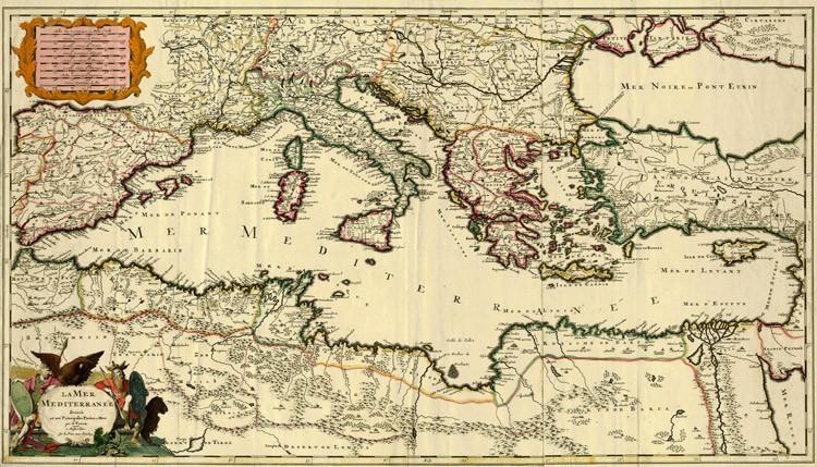 Cartina Geografica Del Mediterraneo.Ritrovare Europa The Livingstone