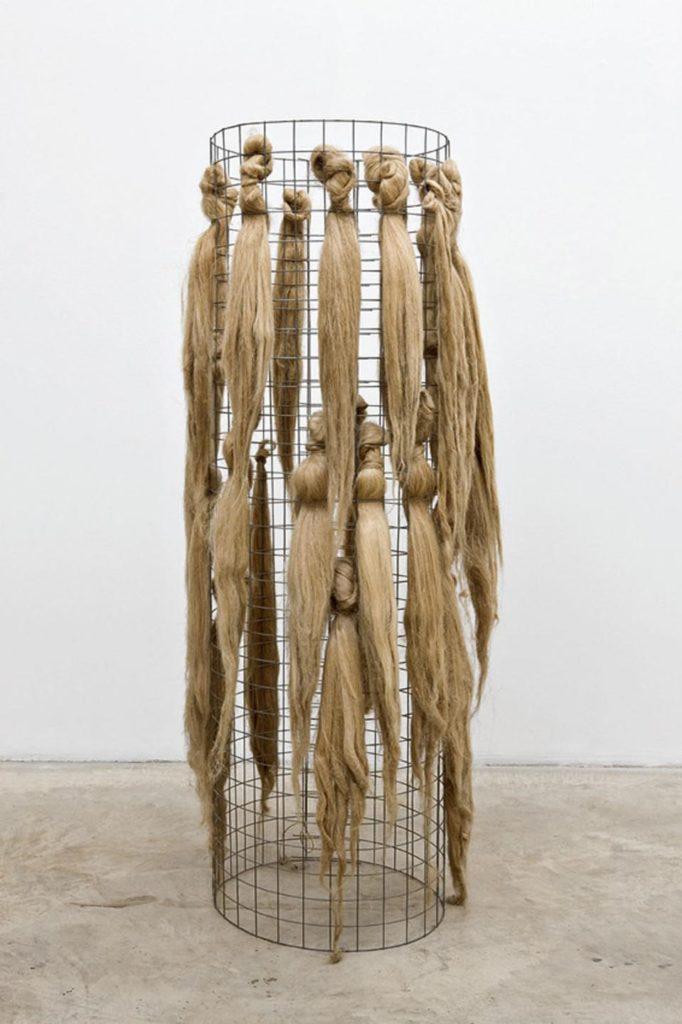 Marisa Merz - Untitled, 1966 - Wire mesh and hemp