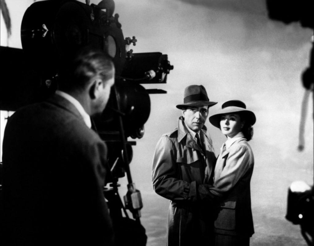 Michael Curtiz on the set of Casablanca